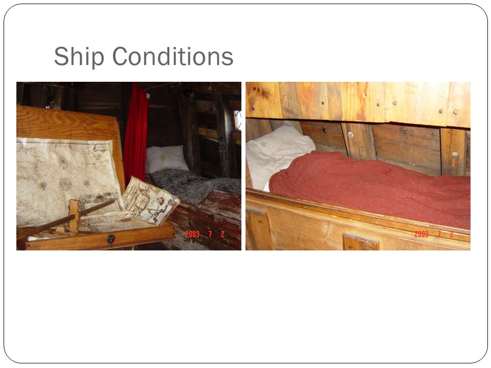 Ship Conditions