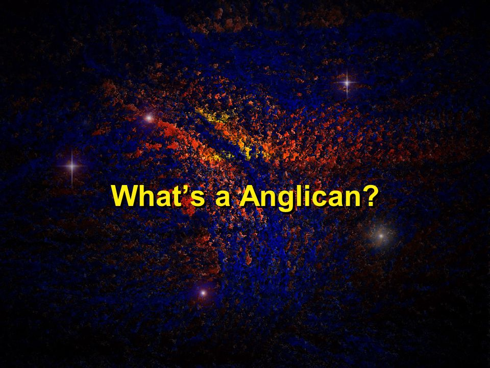 What's a Anglican