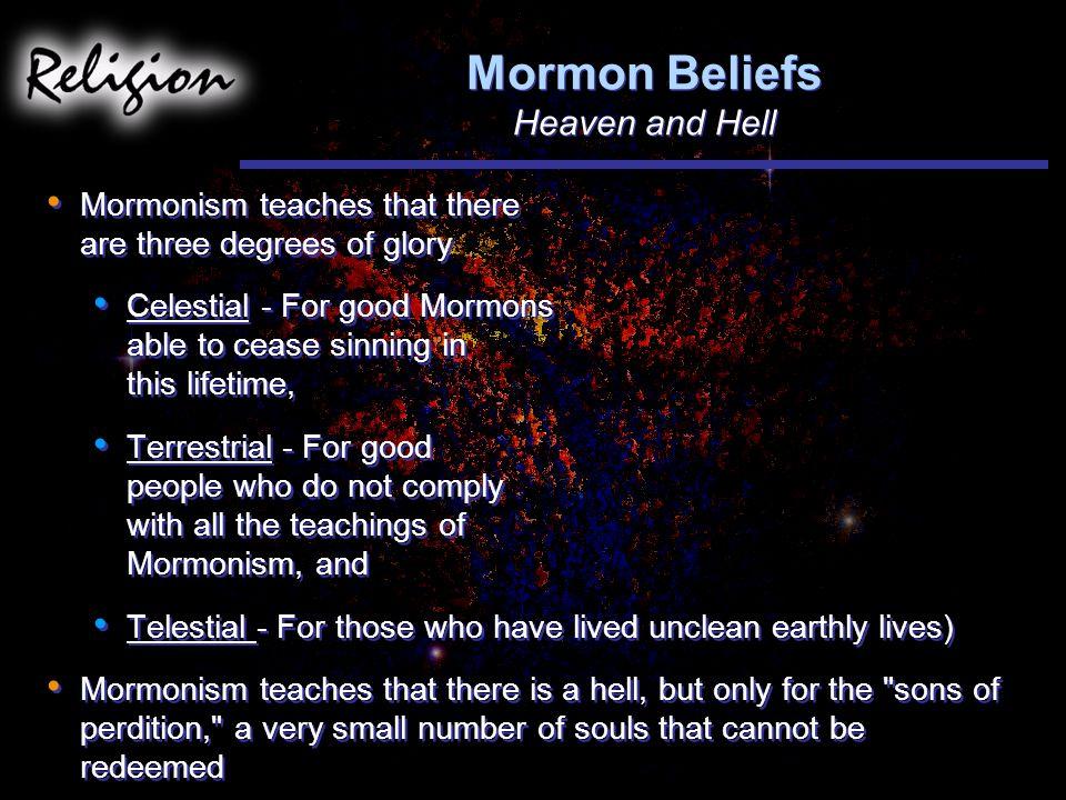 Mormon Beliefs Heaven and Hell