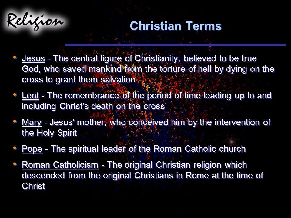 Christian Terms