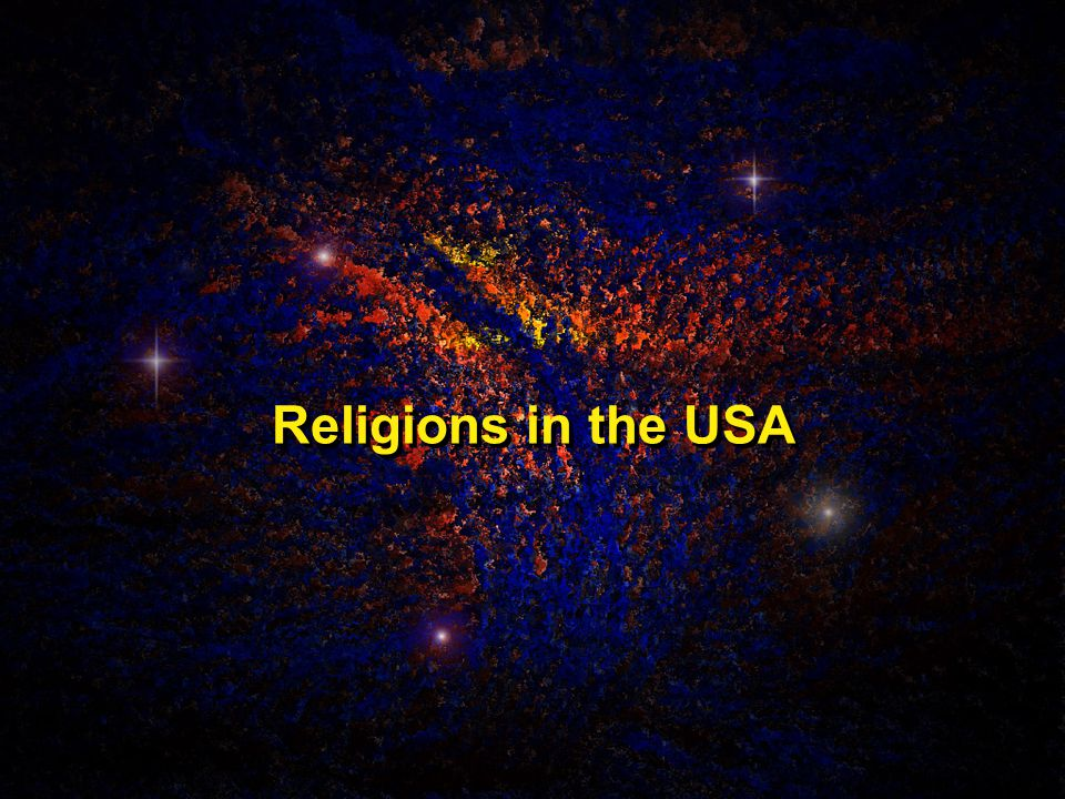Religions in the USA