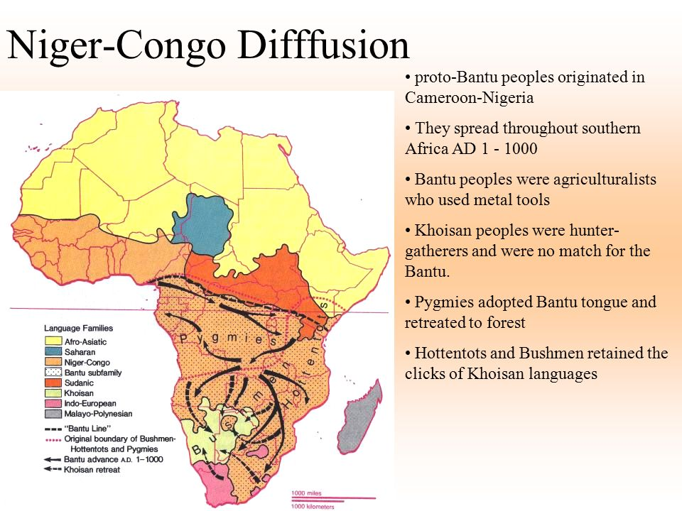 Niger-Congo Difffusion
