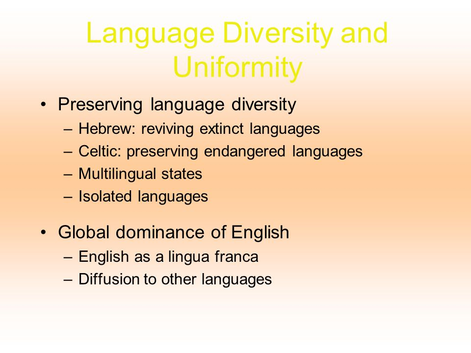 language diversity essay Are you looking for a similar paper or any other quality academic essay then look no further our research paper writing service is what you require.