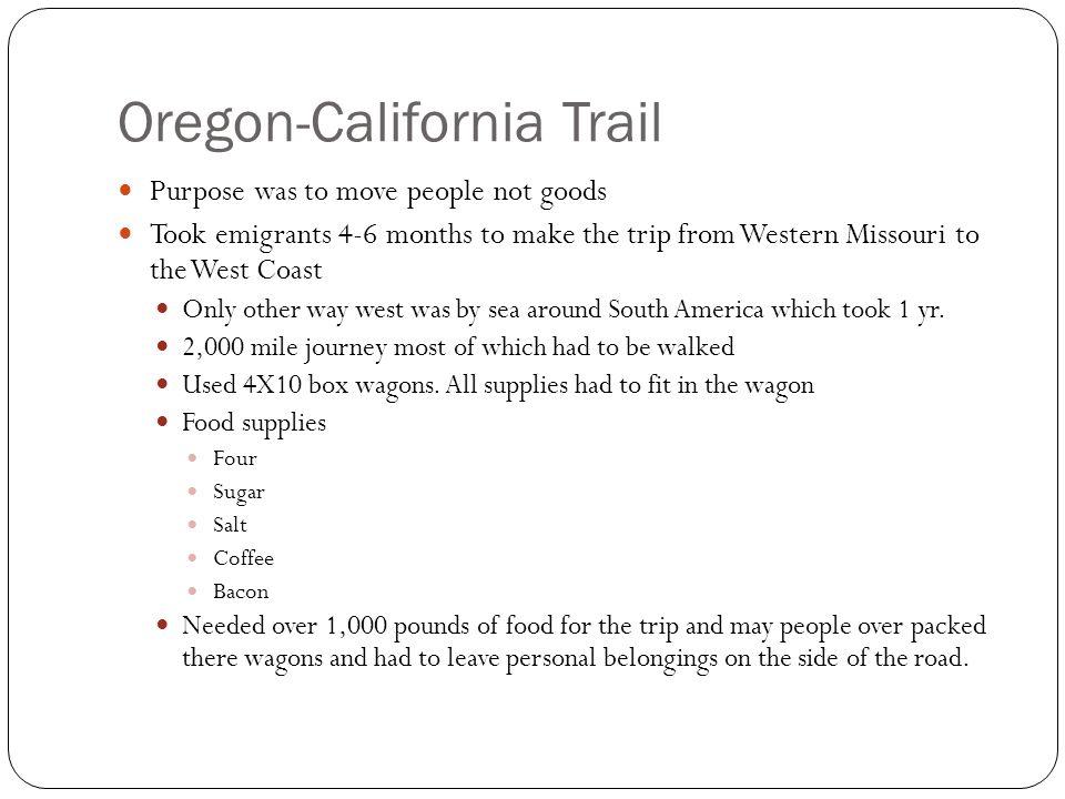 Oregon-California Trail
