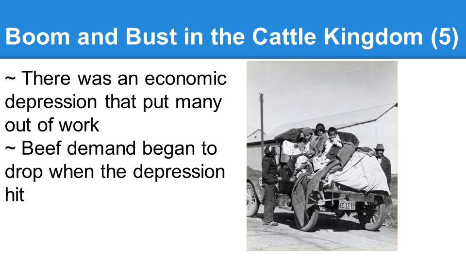 Boom and Bust in the Cattle Kingdom (5)