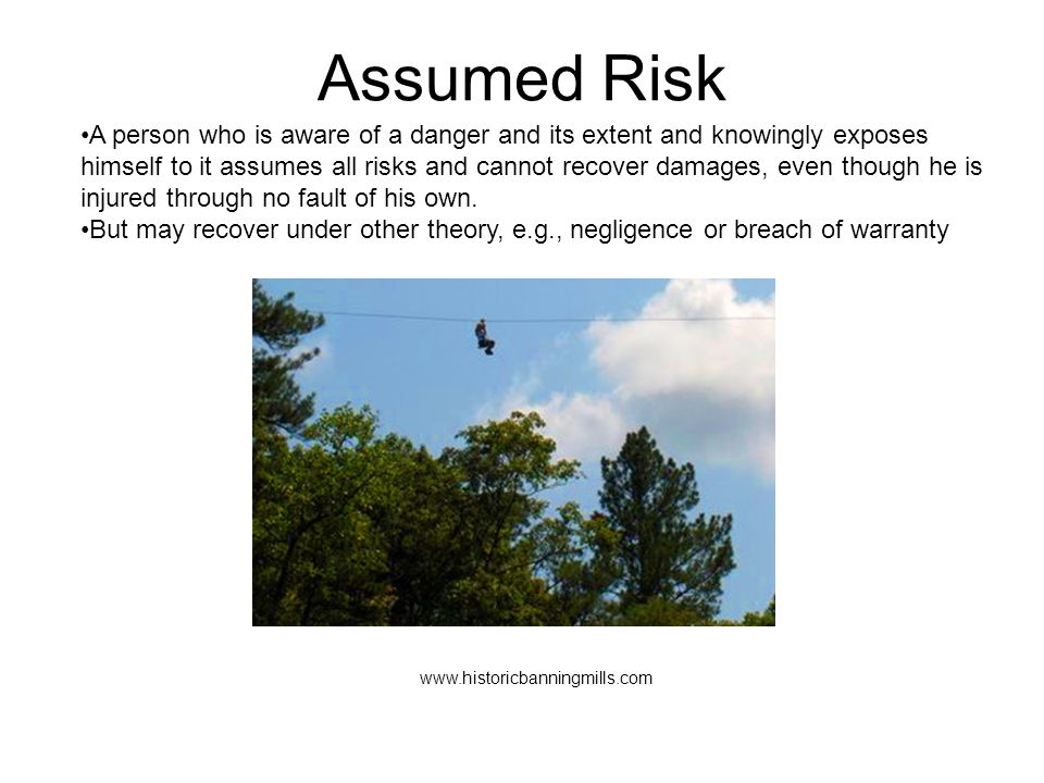 Assumed Risk