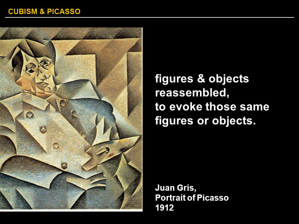 figures & objects reassembled, to evoke those same figures or objects.