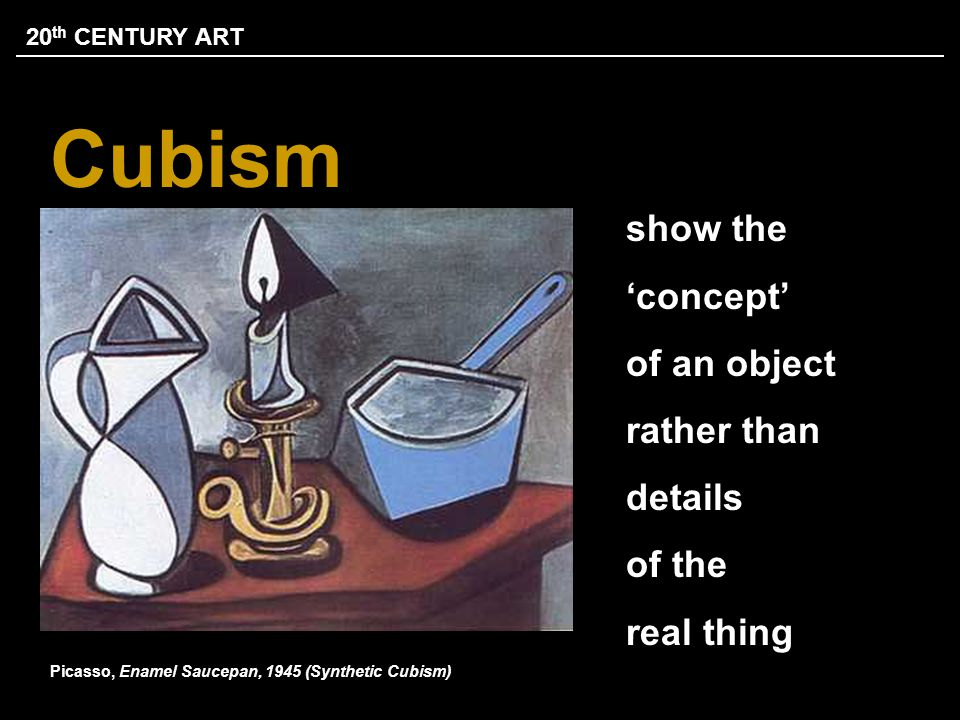 Picasso, Enamel Saucepan, 1945 (Synthetic Cubism)
