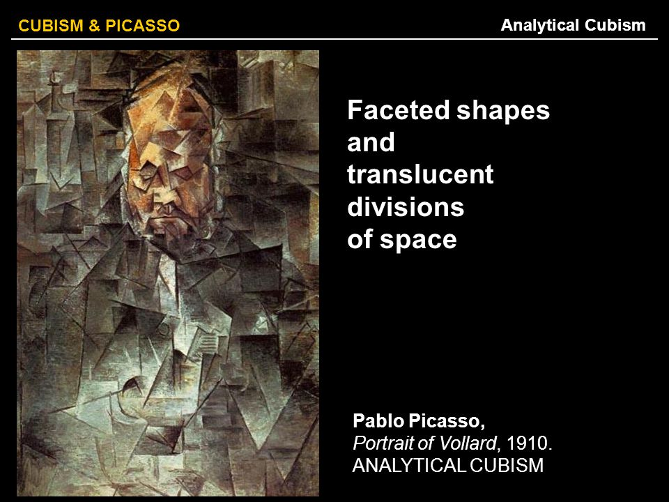 Faceted shapes and translucent divisions of space