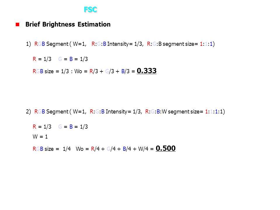 3. How it works – FSC Brief Brightness Estimation