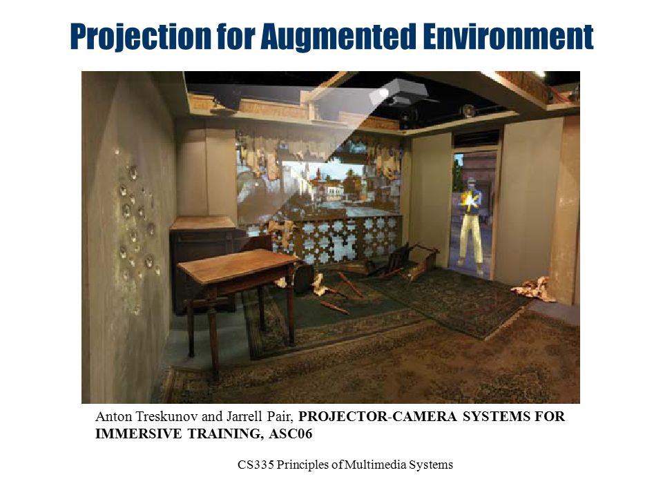 Projection for Augmented Environment
