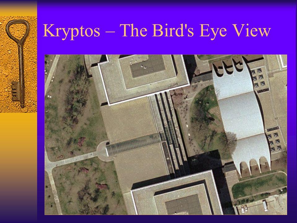 Kryptos – The Bird s Eye View