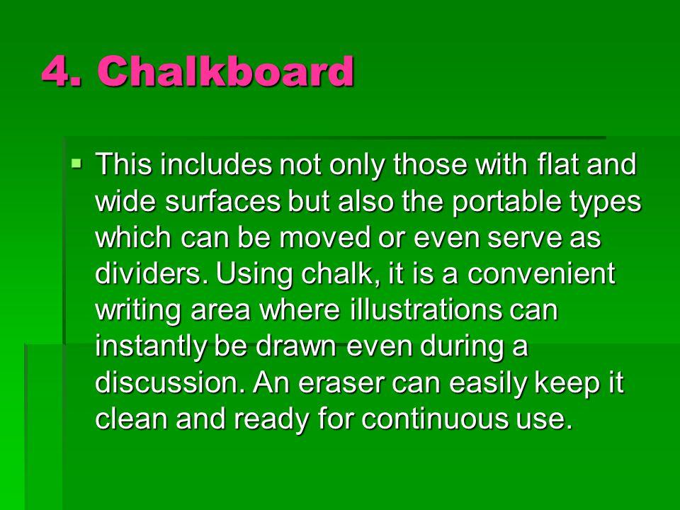 4. Chalkboard