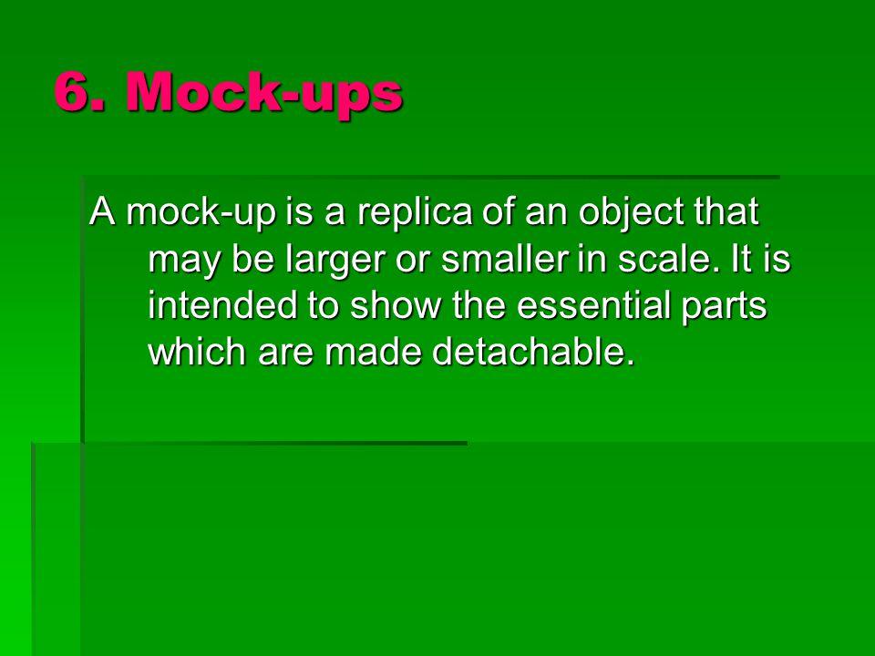 6. Mock-ups