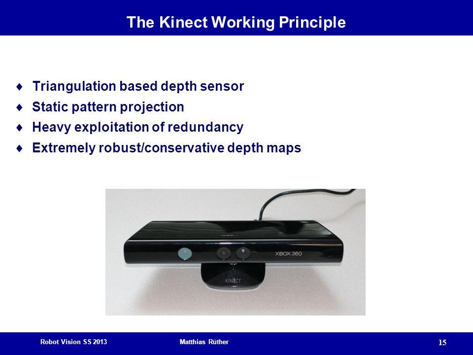 The Kinect Working Principle