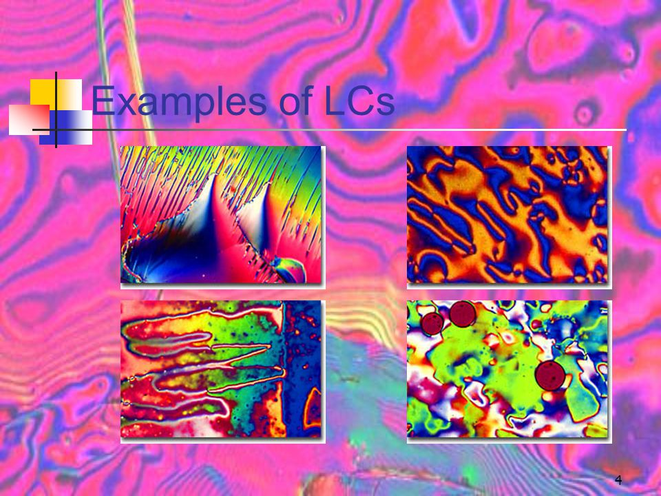 Examples of LCs
