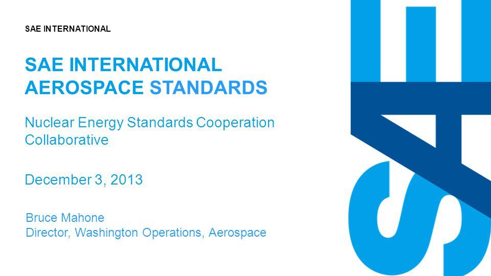 SAE International aerospace standards