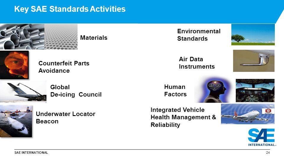 Key SAE Standards Activities