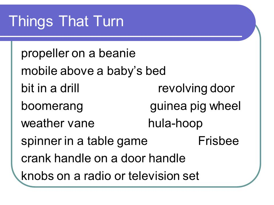 Things That Turn propeller on a beanie mobile above a baby's bed