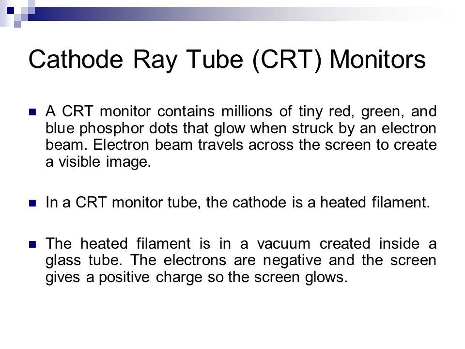 Cathode Ray Tube (CRT) Monitors