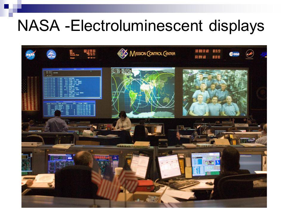NASA -Electroluminescent displays