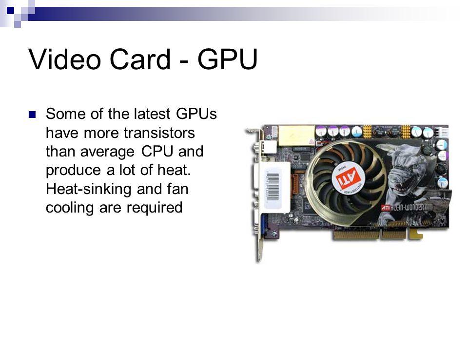 Video Card - GPU