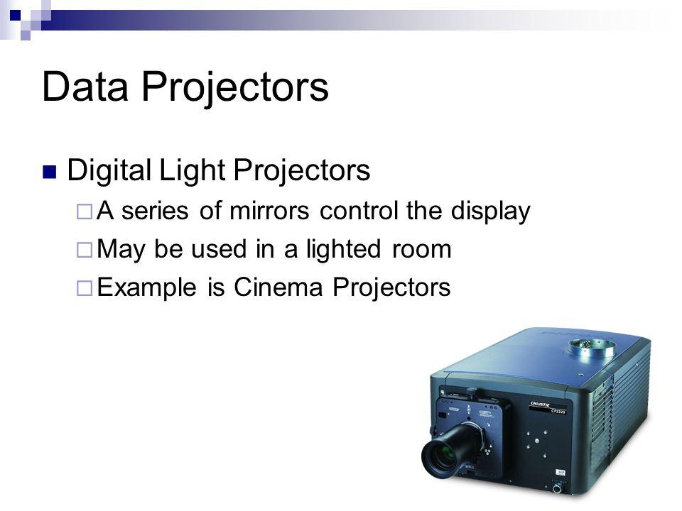 Data Projectors Digital Light Projectors