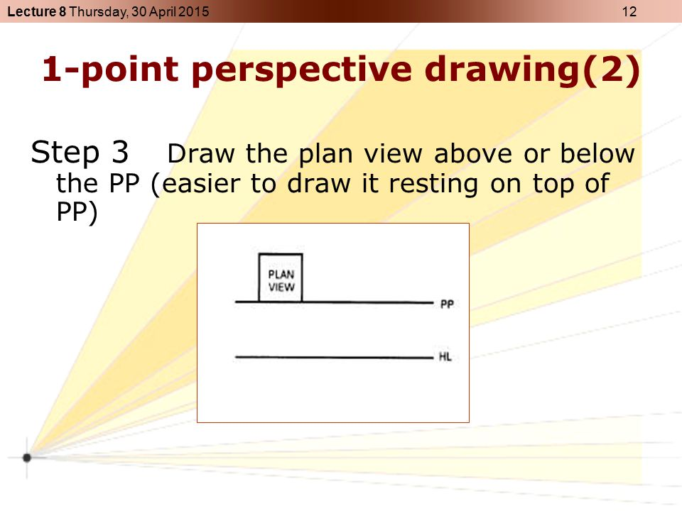 1-point perspective drawing(2)