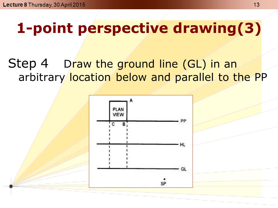 1-point perspective drawing(3)