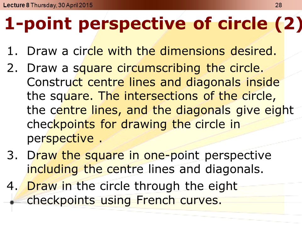 1-point perspective of circle (2)