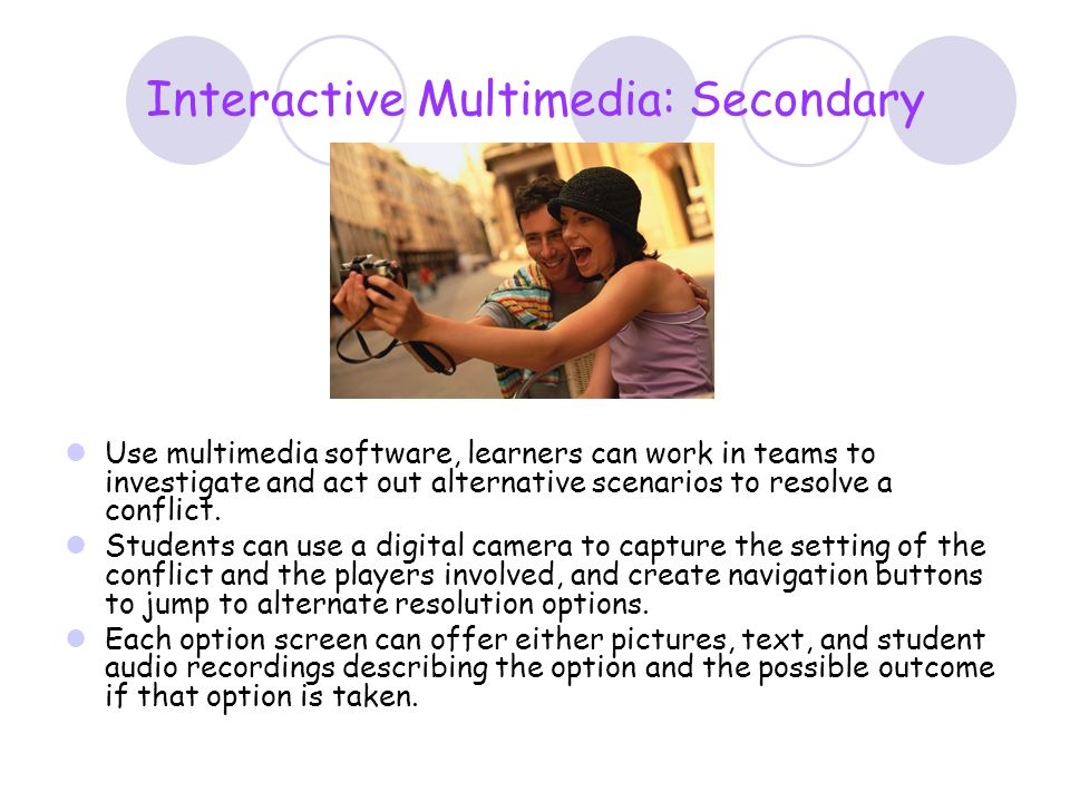 Interactive Multimedia: Secondary