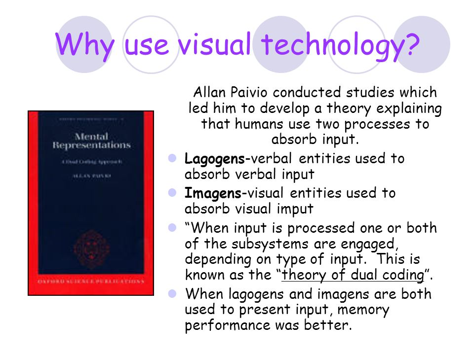 Why use visual technology
