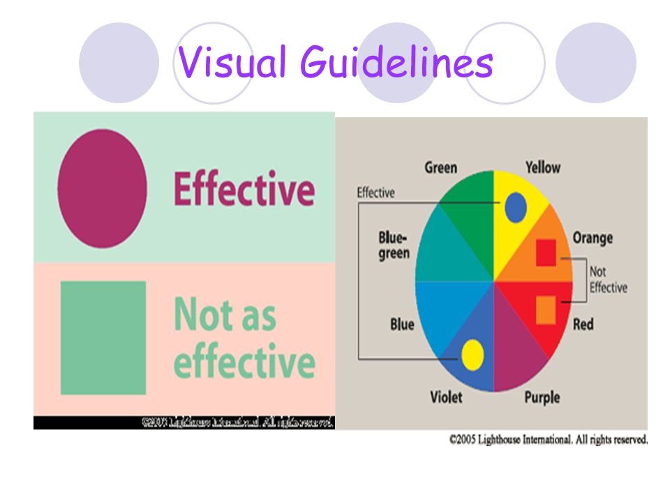 Visual Guidelines