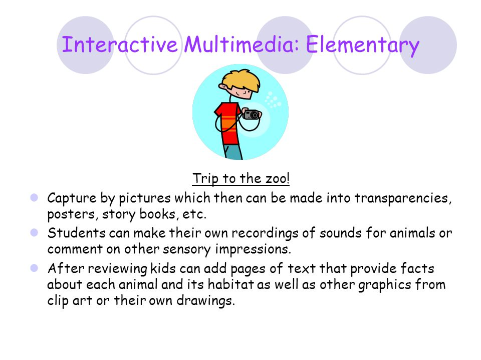 Interactive Multimedia: Elementary