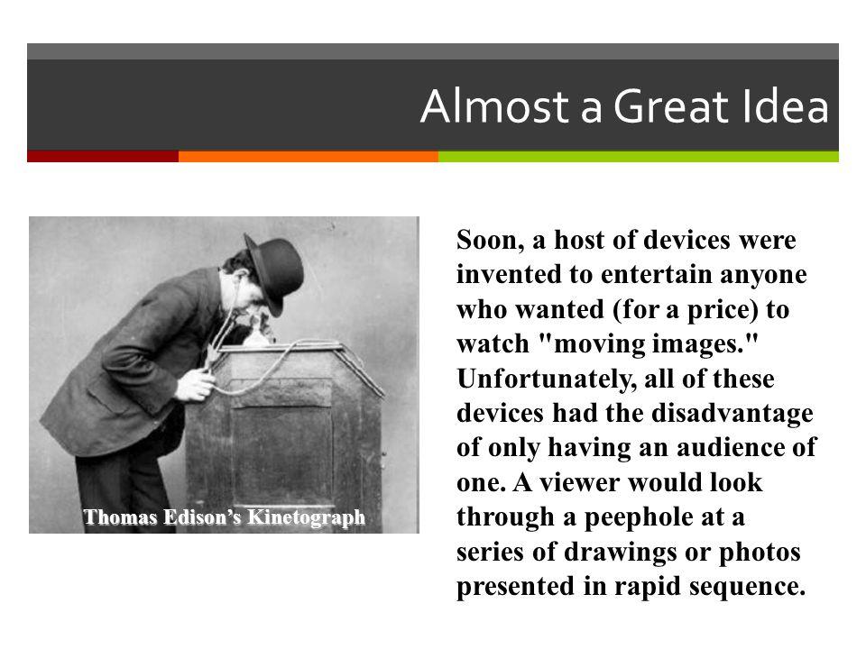 Thomas Edison's Kinetograph