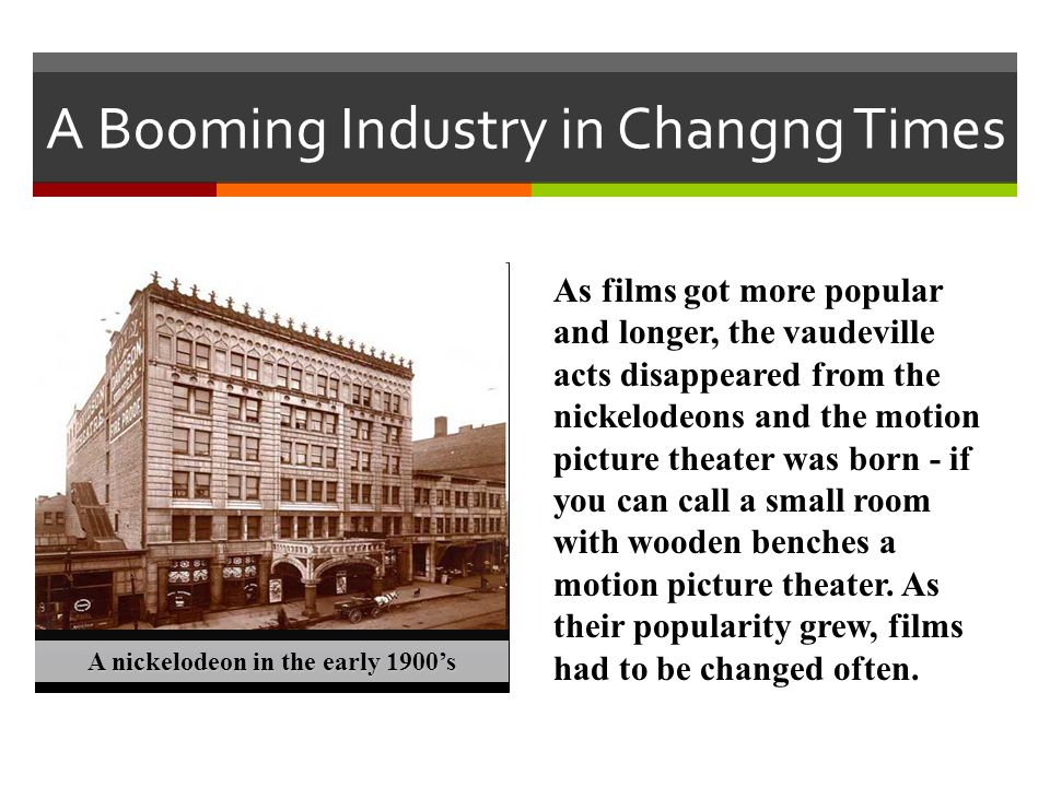 A Booming Industry in Changng Times