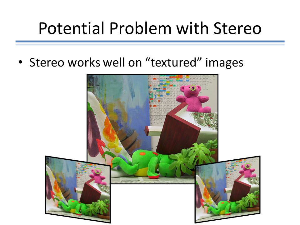 Potential Problem with Stereo