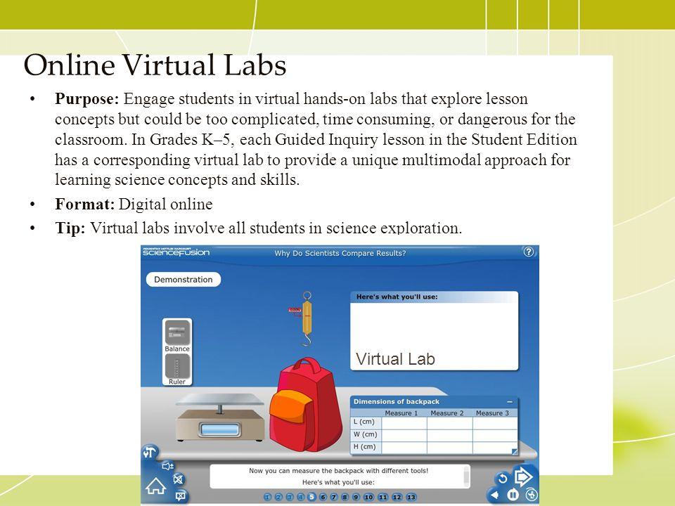 Online Virtual Labs