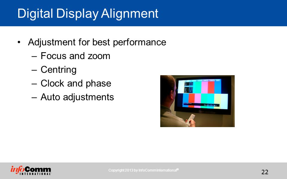 Digital Display Alignment