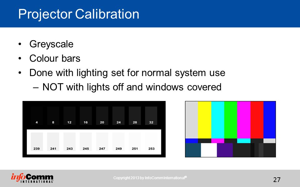 Projector Calibration