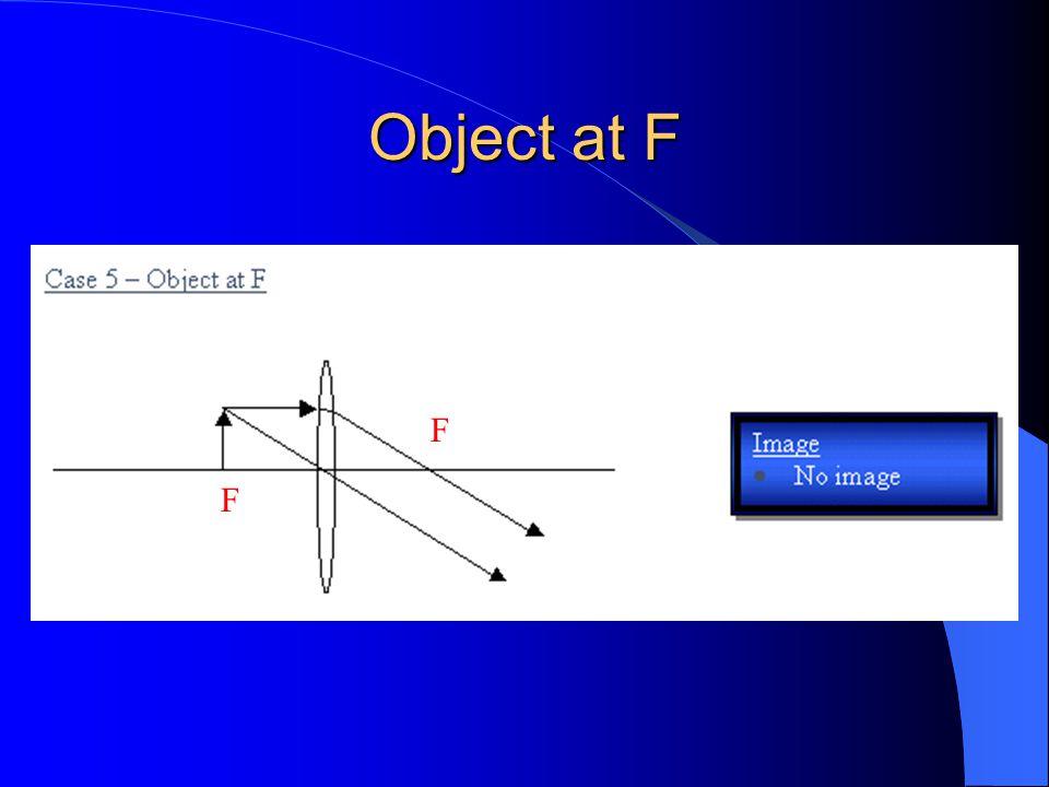Object at F F F