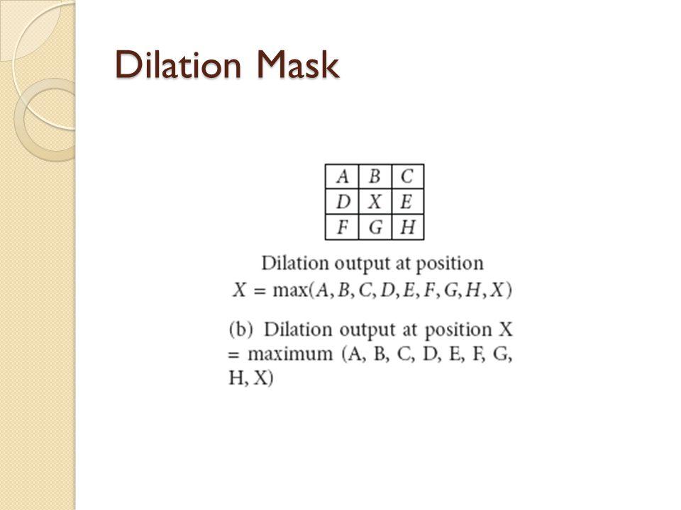 Dilation Mask