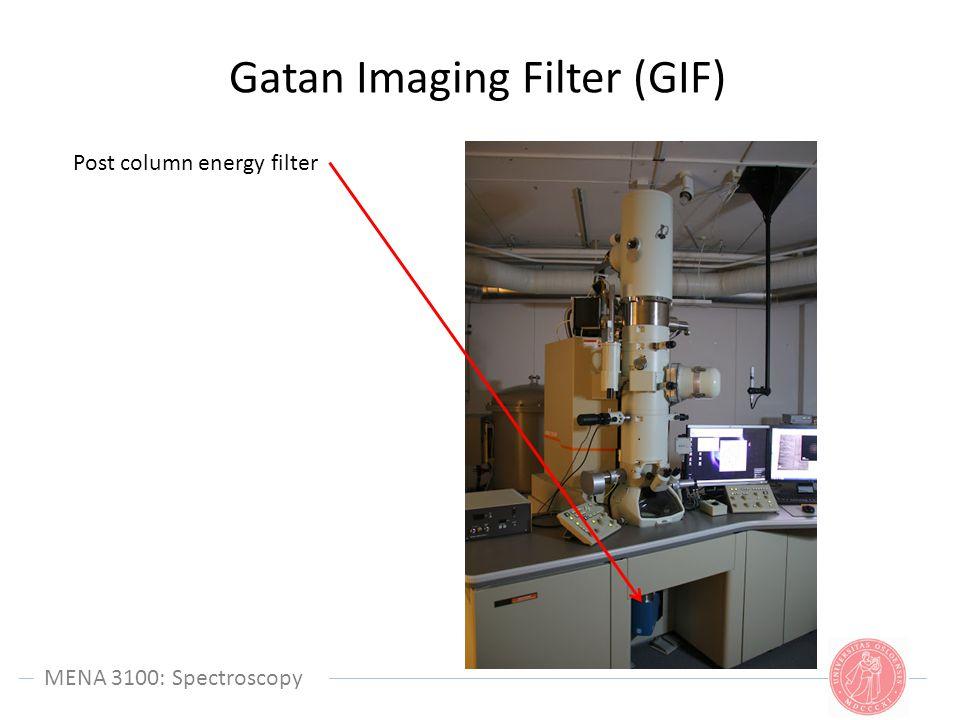 Gatan Imaging Filter (GIF)