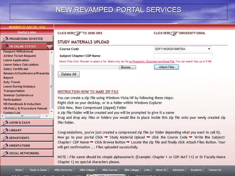NEW REVAMPED PORTAL SERVICES