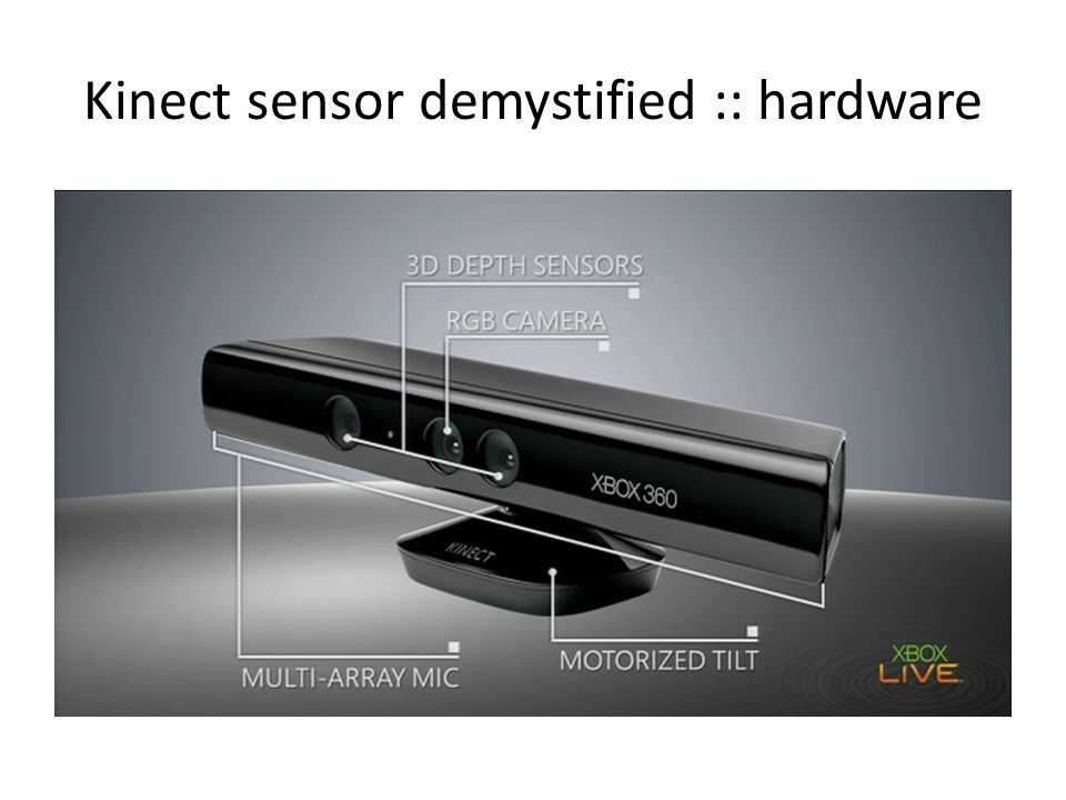 Kinect sensor demystified :: hardware