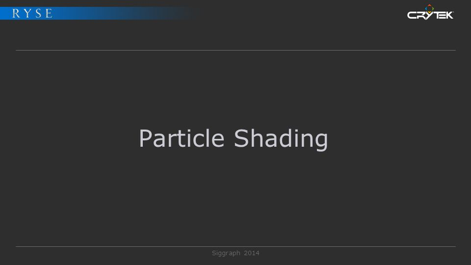 Particle Shading