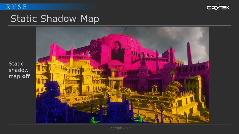 Static Shadow Map Static shadow map off