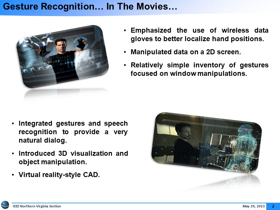 Gesture Recognition: Improved Sensors