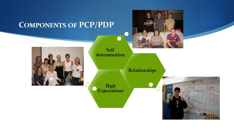 Components of PCP/PDP Self determination Relationships