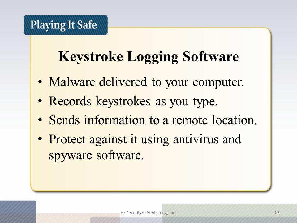 Keystroke Logging Software